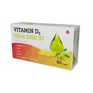 Vitamin D3 Oliva 1000 IU 60 kapslí