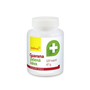 Wolfberry Guarana + Zelená káva 120 kapslí
