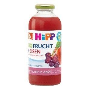 Hipp ŠŤÁVA BIO Jablko a červené hrozny + železo 500 ml