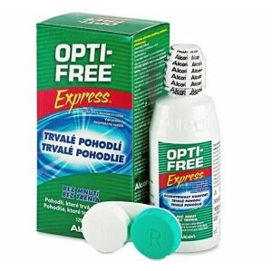 Opti free Express roztok 120 ml + pouzdro na čočky