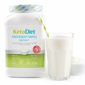 KetoDiet Proteinový nápoj smetanový 1000 g