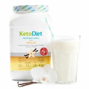 KetoDiet Proteinový nápoj vanilka 1000 g
