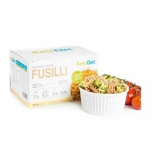 KetoDiet Proteinové těstoviny Fusilli 350 g