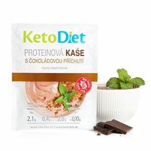 KetoDiet Proteinová kaše s čokoládovou příchutí 7x27 g