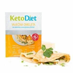 KetoDiet Proteinová omeleta se sýrovou příchutí 7x27 g