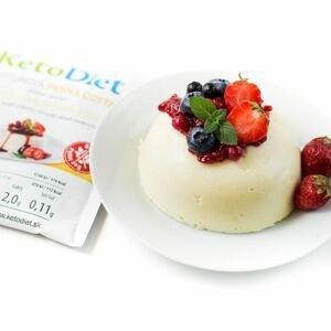 KetoDiet Proteinová panna cotta s příchutí smetany a vanilky 7x27 g