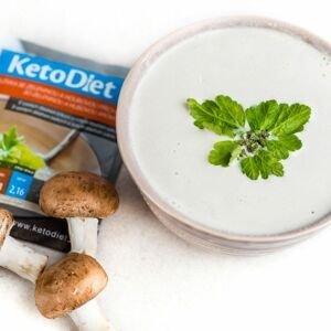 KetoDiet Proteinová polévka houbová 7x27 g