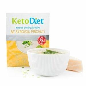 KetoDiet Proteinová polévka se sýrovou příchutí 7x27 g