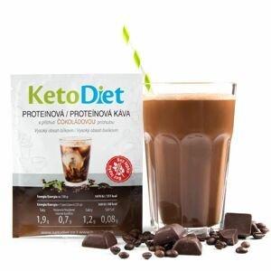 KetoDiet Proteinová ledová káva s čokoládovou příchutí 7x27 g