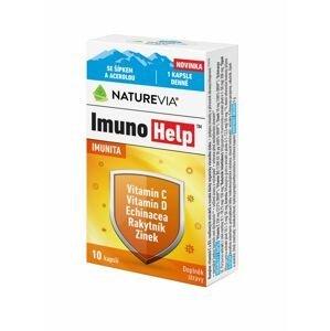 Swiss NatureVia ImunoHelp 10 kapslí