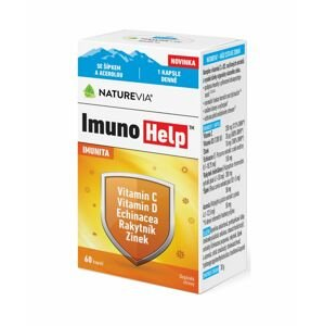 Swiss NatureVia ImunoHelp 60 kapslí