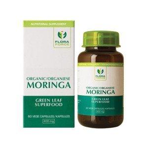 FLORA FORCE Organic Moringa 60 kapslí