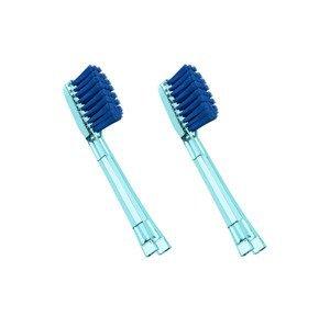 IONICKISS Výměnné hlavice EXTRA SOFT velmi měkké 2 ks modré