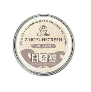 Suntribe Přírodní opalovací krém se zinkem Obličej & Sport tělový SPF30 10 g