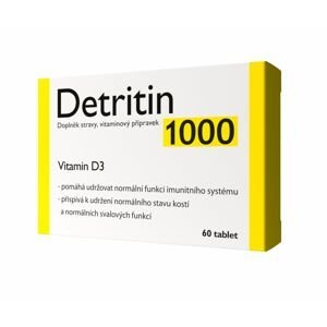 Detritin 1000 IU Vitamin D3 60 tablet