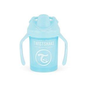 Twistshake Hrnek netekoucí učící 230 ml modrý