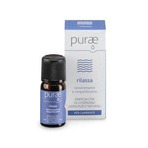 Purae Rilassa Směs esenciálních olejů pro relaxaci a odpočinek 10 ml
