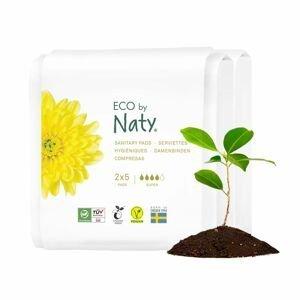 ECO by Naty Dámské ECO vložky super cestovní balení 2x5 ks