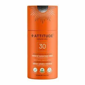 ATTITUDE 100% minerální ochranná tyčinka na celé tělo Orange Blossom SPF30 85 g