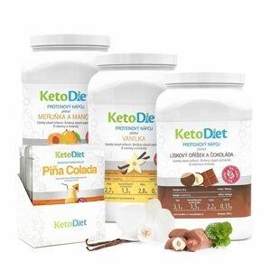 KetoDiet 4týdenní balení proteinových nápojů INTENSE 2. krok