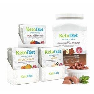 KetoDiet 2týdenní balení proteinových nápojů BASIC 2. krok