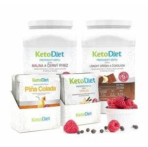 KetoDiet 3týdenní balení proteinových nápojů MEDIUM 2. krok