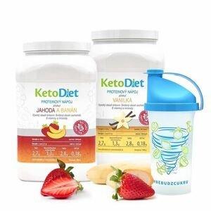 KetoDiet 2týdenní balení proteinových nápojů BASIC 1. krok