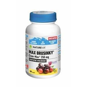 NatureVia Max Brusinky Cran-Max 30 kapslí
