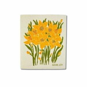 More Joy Pratelná univerzální utěrka Narcisy 1 ks