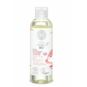 Little Siberica Dětský masážní olej pro novorozence 200 ml