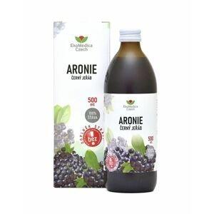 Ekomedica Aronie Černý jeřáb 100% šťáva 500 ml