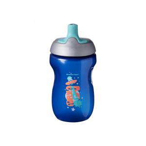 Tommee Tippee Netekoucí sportovní láhev 12m+ Blue 300 ml