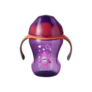 Tommee Tippee Sippee Cup 7m+ netekoucí hrnek 230 ml Pink