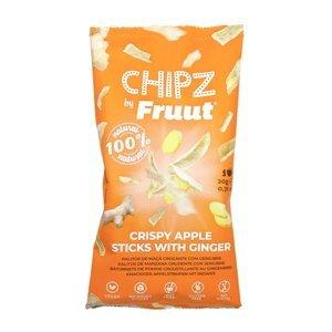 Fruut Jablečné křupavé kousky se zázvorem 20 g