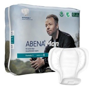 Abena Man Formula 1 inkontinenční vložky pro muže 15 ks