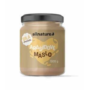 Allnature Arašídové máslo s bílou čokoládou 500 g