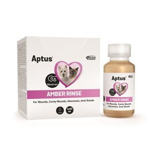Aptus AMBER RINSE roztok k oplachu ran 4x60 ml