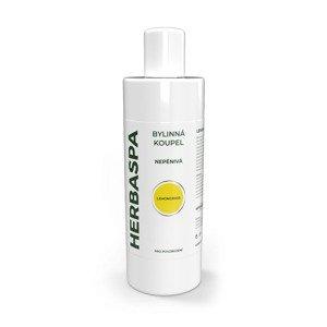 HERBASPA Bylinná koupel nepěnivá Lemongrass 400 ml