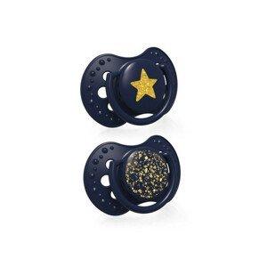 LOVI Stardust Dudlík silikonový dynamický 0–3m 2 ks