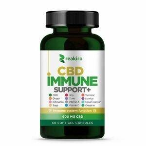 Reakiro CBD Kapsle na podporu imunity 600 mg 60 kapslí