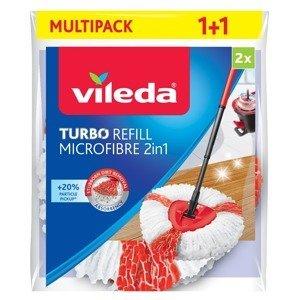 Vileda Turbo Microfibre 2v1 náhrada 2 ks