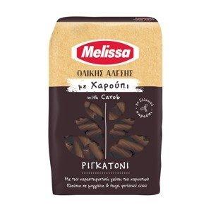 MELISSA Celozrnné Rigatoni s karobem 400 g