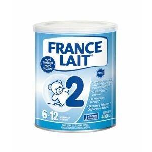 France Lait 2 Pokračovací kojenecká mléčná výživa 400 g