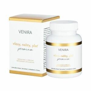 Venira Premium Vlasy, nehty, pleť, 40denní kúra 80 kapslí