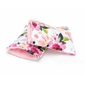 ESECO Rukavice na kočárek Watercolor flowers 2 ks