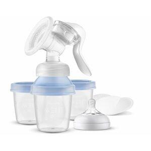 Avent Odsávačka mateřského mléka manuální s VIA systémem