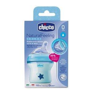 Chicco Natural Feeling Kojenecká láhev 150 ml chlapec
