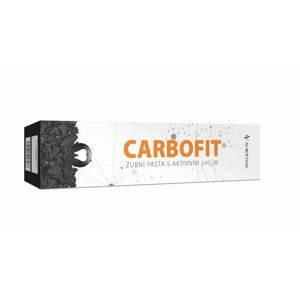 Carbofit Zubní pasta s aktivním uhlím 100 g