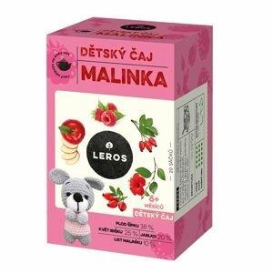 Leros Dětský čaj Malinka 20x2 g
