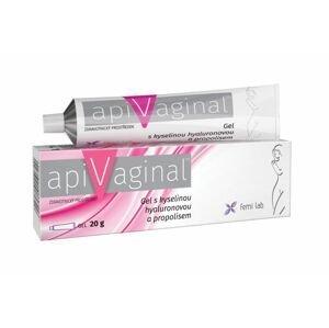 Apivaginal Gel s kyselinou hyaluronovou a propolisem 20 g